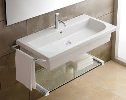wall mounted sinks for small bathrooms for stunning small wall mounted bathroom sinks bath and bathroom