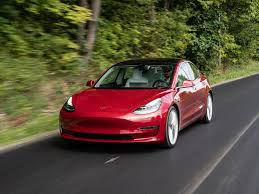 Tesla's Model 3 is getting pedestrian warning noises, report says ...