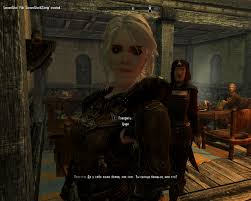 Skyrim спутница цири из игры ведьмак 3 спутники Skyrim моды