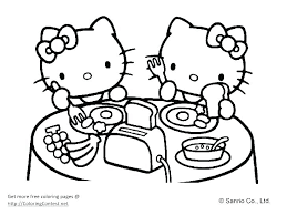 Baby Hello Kitty Coloring Pages Christianvisionpnginfo