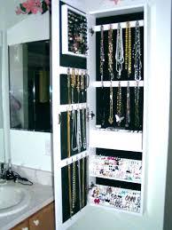 over the door mirrored jewelry armoire jewelry over the door mirror cabinet jewelry over door mirror