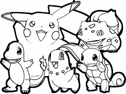 Small Picture Pokemon Pok mon Coloring Pages Coloring Pages Bestofcoloringcom