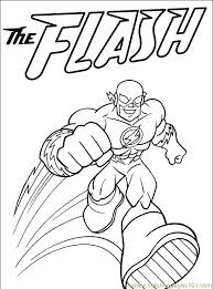Small Picture The Flash Superhero Coloring Pages 27891 Bestofcoloringcom