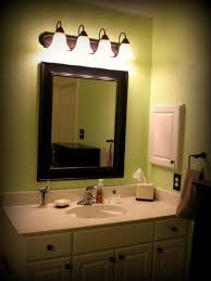 update bathroom mirror: playing house home decorating update master bathroom