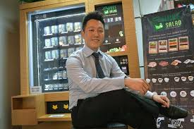 What Did The Coach Say To The Vending Machine Adorable Shake Salad Founder Heng RiLiang How He Ventured Into Salad