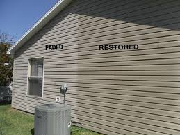 image of how to re faded vinyl siding