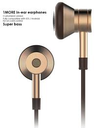 1more Design 1more Eo320 Piston In Ear Headphones With In Line Mic And