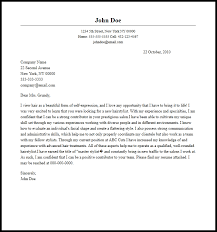 Professional Hairstylist Cover Letter Sample Writing Guide