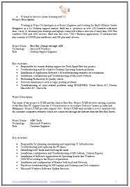 ... Desktop Engineer Sample Resume 6 3 Format For Hardware ...