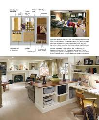 basement office design ideas. basement idea for nick candice olson with scrapbook area i like how she incorporated an office into a large living space design ideas e