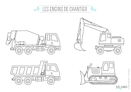 Coloriage Camion Momes Net