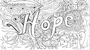 Hope Coloring Pages Girls Coloring Book Danaverdeme