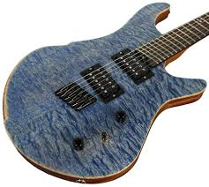 American Exotic Guitars DC-Multi, Quilted Maple | Humbucker Music & American Exotic Guitars DC-Multi, Quilted Maple and Mahogany Adamdwight.com
