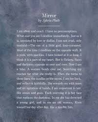 mirror and metaphors by sylvia plath essay custom paper academic  mirror and metaphors by sylvia plath essay