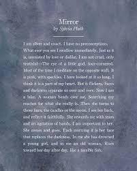 mirror and metaphors by sylvia plath essay custom paper academic  mirror and metaphors by sylvia plath essay