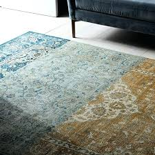 colorblock persian style rug west elm color block rug texture and color block area rug thresholdtm