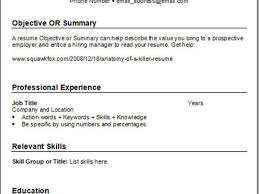 When Is A Functional Resume Advantageous Free Resume Example And