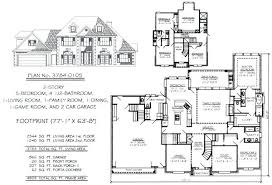 5 bedroom floor plans. 4 5 Bedroom House Plans 2 Story Plan Inspirational To Estate Floor U