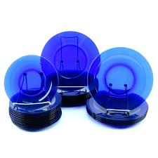 blue glass dinnerware set cobalt blue glass dinnerware sets cobalt blue dinnerware cobalt blue glass dinnerware