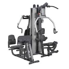 Body Solid Sbl460p4 Exercise Chart Body Solid Two Stack Gym G9s
