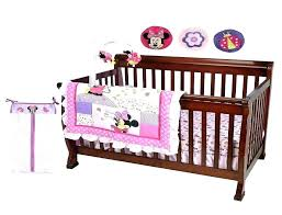 luxurious baby minnie mouse crib bedding set 5 pieces p3743205 baby mouse crib bedding set 5
