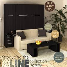 murphy bed with sofa. InLine Murphy Bed With Hutch And Sofa .