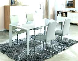 frosted glass dining tables table white extending cool sets uk