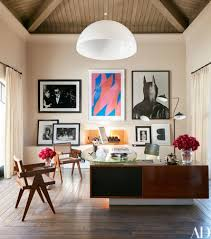 Design home office Mid Century Kourtney Kardashians Los Angeles Home Office Was Designed By Martyn Lawrence Bullard And Furnished With Catinhouse 50 Home Office Design Ideas That Will Inspire Productivity