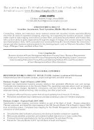 Functional Summary Resume Examples Summary For A Resume Examples ...