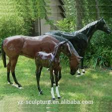 outdoor garden decoration large bronze horse statue animal sculpture