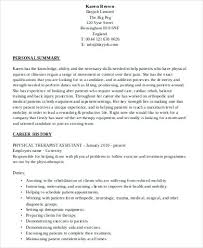 Physical Therapy Aide Resume Physical Therapy Aide Resume Physical ...