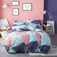 twin flannel duvet fashion design sweet pattern twin full queen king size bedding set duvet cover