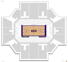 Williams Arena East Carolina Seating Guide Rateyourseats Com
