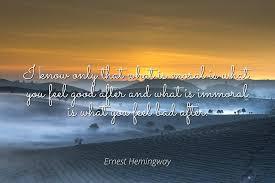 Amazoncom Home Comforts Ernest Hemingway Famous Quotes Laminated