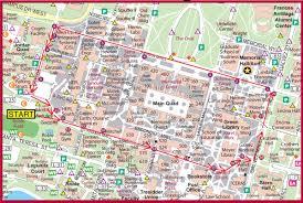 cardinal walk map  stanford university palo alto ca • mappery
