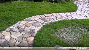 Small Picture Great Stone Pathway Ideas YouTube