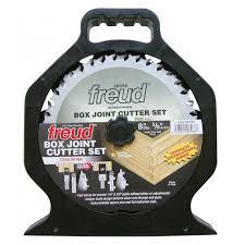 dewalt dado blade. freud box joint cutter set dewalt dado blade