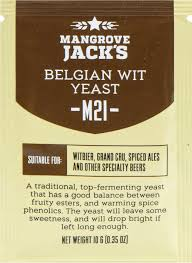 "Пивные <b>дрожжи</b> ""Mangrove Jack's Craft Series Yeast — Belgian Wit ..."