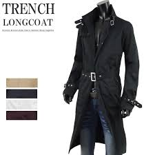 long coat mens trench coat trench coat long size and kr o137007