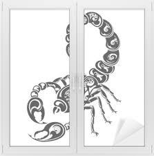 Znamení Zvěrokruhu štír Tetování Design