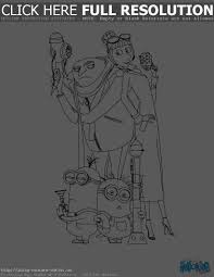 Small Picture Despicable Me Halloween Coloring Pages Halloween Wizard