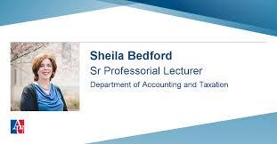 Faculty Profile: Sheila Bedford