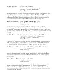 Objective For Social Work Resume Foster Care Social Worker Resume Clinical Social Work Resume 66