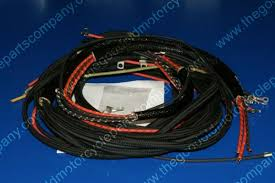 harley davidson 4736 42m 1942 wla military wiring harness