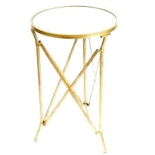 small round side table target metal bedside table glass to metal