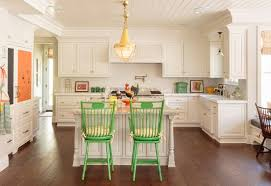 image of quartz countertops with white cabinets and island