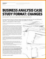 Business Case Analysis Business Analyst Report Template New 24 Business Case Analysis 1