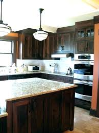 cherry cabinets with white countertops dark kitchen ideas lovely natural wh
