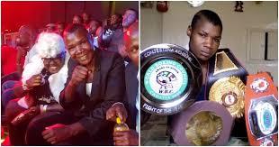 kenyans in awe as conjestina achieng makes return to the ring during nairobi fight night tuko co ke