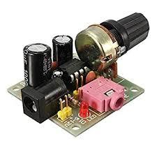 Buy Beautyforall 2pcs <b>LM386 Mini DC 3V</b> To 12V Amplifier Board ...